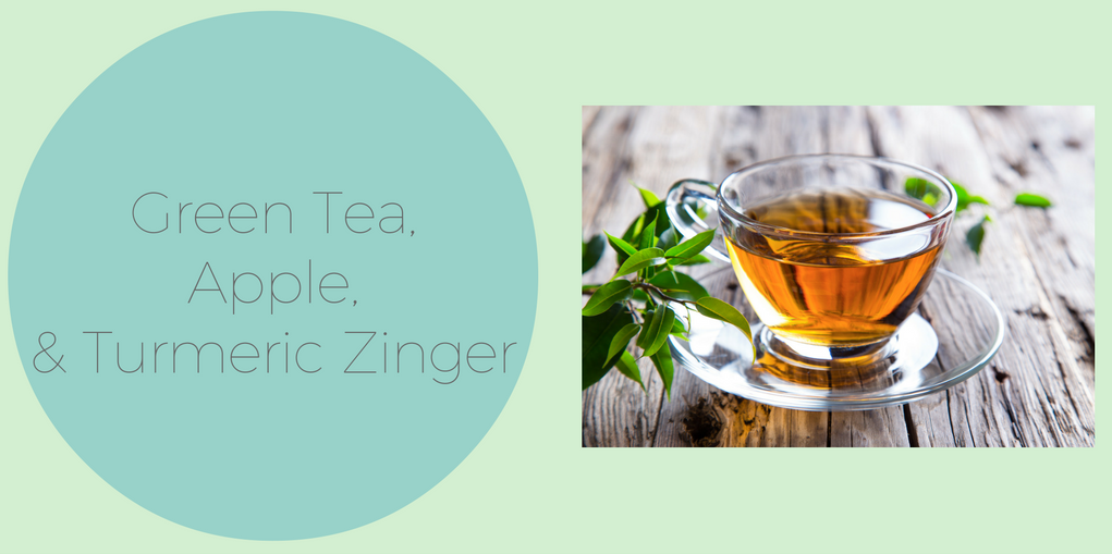 View Green Tea, Apple and Turmeric Zinger