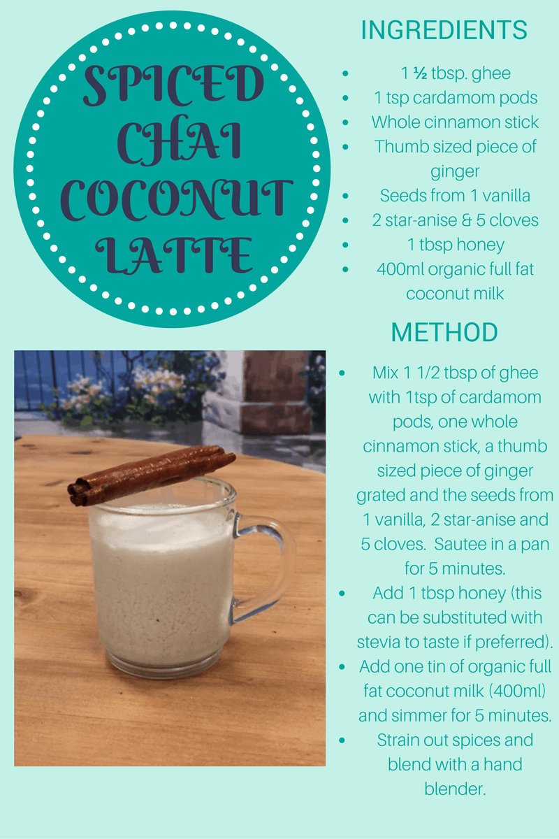 Ghee spiced-chai-coconut-latte