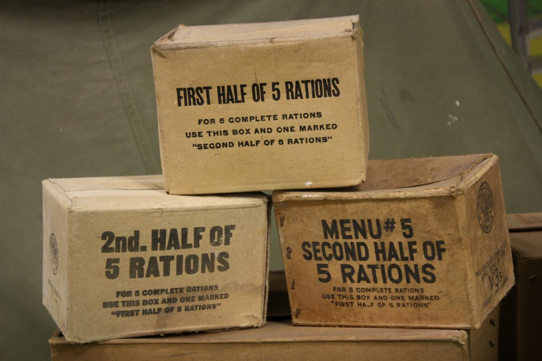Rations - sugar, meat, eggs and dairy