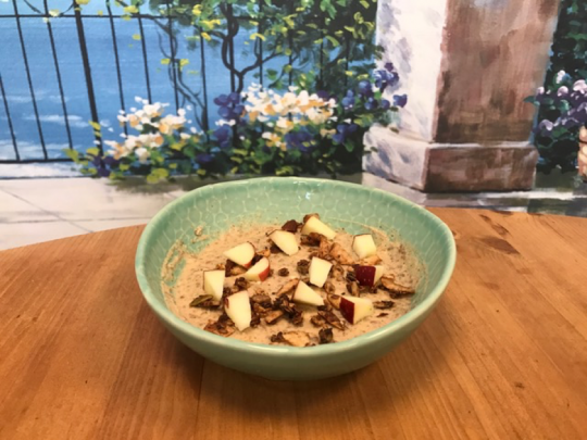 Apple 'N' Nut Oatmeal