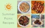 View Picnic recipe ideas for a healthy summer!